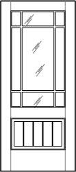 ML 900 Single Door