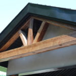 Wood look beams